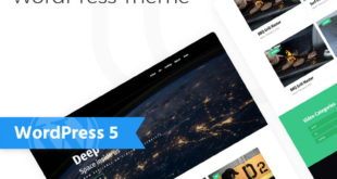 WordPress Theme namens Eflex - Video Blog Multipurpose Classic Elementor